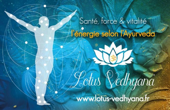 Réalisation de documents pour Lotus Vedhyana par l'Agence Cré Home.