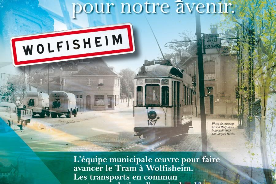 Affiche Mairie de Wolfisheim par l'Agence Cré Home.