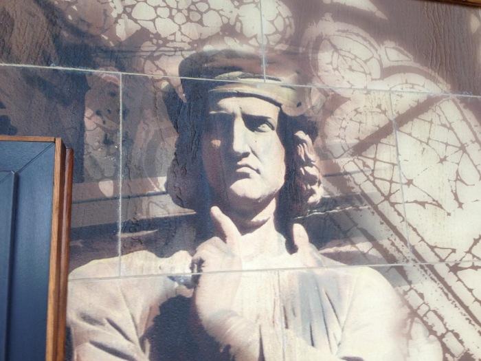 Création d'une fresque mural sur pierre pour Minéral Koncept par l'Agence Cré Home.