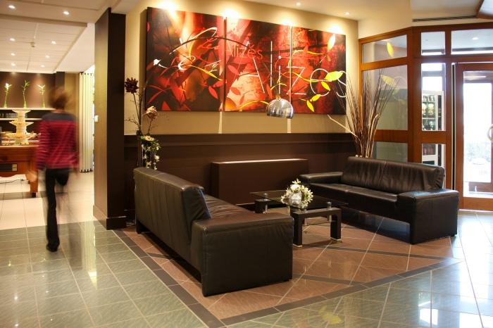 Toiles Hôtel Les Alizés par l'Agence Cré Home.