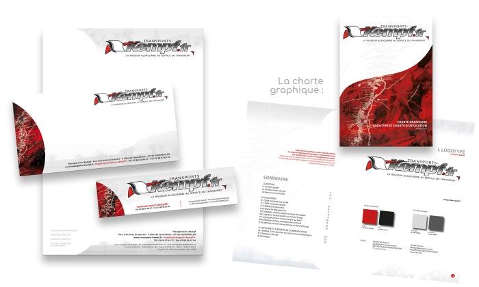 Charte graphique et logo par l'Agence Cré Home.