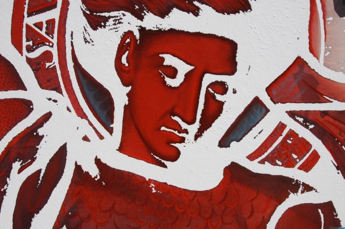 Création et réalisation d'une toile pour Magade - Hôtel Design par l'Agence Cré Home.